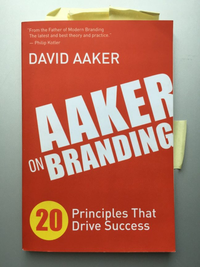 aaker-on-branding